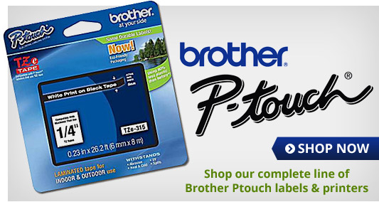 Brother P-Touch Labels